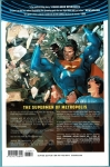 Action Comics Vol.1 Trade Paperback (Back Cover)