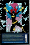 Batgirl: A celebration of 50 Years Hard Cover (Back Cover)