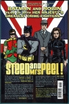 Batman '66 Meets Steed and Mrs. Peel Hard Cover (Back Cover)