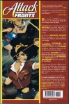 DC Comics Bombshells Vol.2 Trade Paperback (Back Cover)