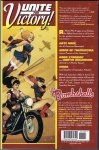 DC Comics Bombshells Vol.1 Trade Paperback (Back Cover)