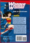 DC Comics Super Heroes: Wonder Woman: Sword of the Dragon Trade Paperback (Back Cover)