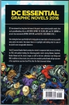 DC Entertainment: Essential Graphic Novels 2016 (Back Cover)
