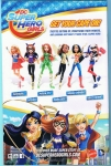DC Super Hero Girls Free Comic Book Day (Back Cover)