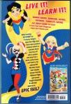 DC Super Hero Girls: Hits and Myths Trade Paperback (Back Cover)