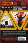 DMZ Vol.3 Trade Paperback (Back Cover)