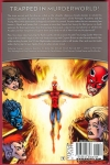 Avengers Academy: Arcade Death Game Trade Paperback (Back Cover)