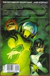 Avengers Academy Vol.2 Trade Paperback (Back Cover)