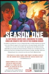 Ant-Man Season One Hard Cover (Back Cover)