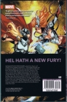 Angela: Queen of Hel Trade Paperback (Back Cover)