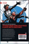 The Amazing Spider-man & Silk: The Spider(fly) Effect Trade Paperback (Back Cover)