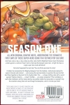 Avengers: Season One Hard Cover (Back Cover)