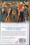 Avengers: Time Runs Out Vol.1 Hard Cover (Back Cover)
