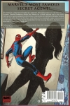 Black Widow: The Sting of the Widow Hard Cover (Back Cover)