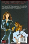 Black Widow: Web of Intrigue Hard Cover (Back Cover)