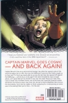 Captain Marvel v.9 Vol.3 Trade Paperback (Back Cover)