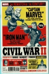 Civil War II #8 Post Card