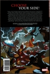 Civil War II Hard Cover (Back Cover)