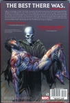 Death of Wolverine Hard Cover (Back Cover)