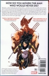 Death of Wolverine: The Logan Legacy Trade Paperback (Back Cover)