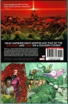 Death of X  Trade Paperback (Back Cover)