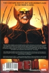 Dark Wolverine Vol.2: My Hero Hard Cover (Back Cover)