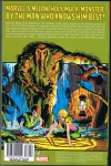 The Man-Thing by Steve Gerber: The Complete Collection Vol.1 Trade Paperback (Back Cover)