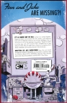 Adventure Time: Candy Capers Trade Paperback (Back Cover)