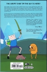 Adventure Time Vol.8 Trade Paperback (Back Cover)