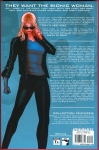 The Bionic Woman Trade Paperback (Back Cover)